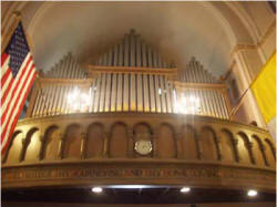 Odell organ at Church of Saint Michael